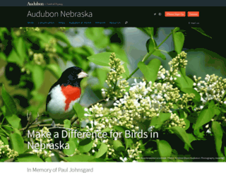 nedev.audubon.org screenshot