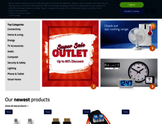 nedis.com screenshot