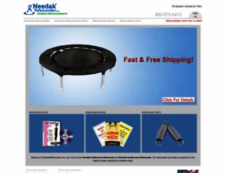 needakrebounder.com screenshot