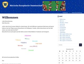 neg-jugend.de screenshot