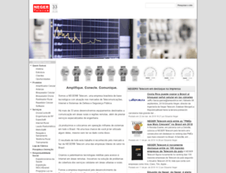 neger.com.br screenshot