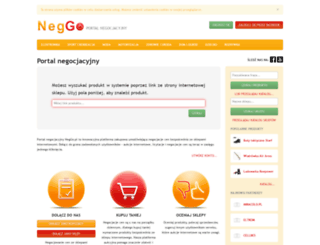 neggo.pl screenshot