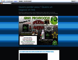 negociostlc.blogspot.mx screenshot