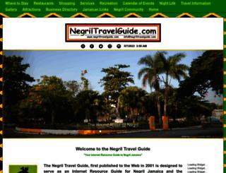 negriltravelguide.com screenshot