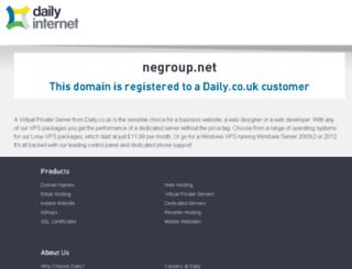 negroup.net screenshot