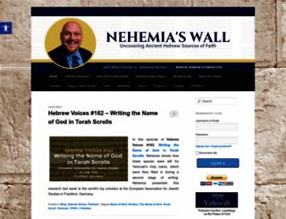 nehemiaswall.com screenshot