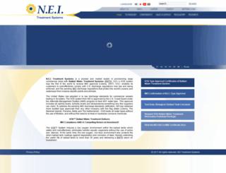 nei-marine.com screenshot