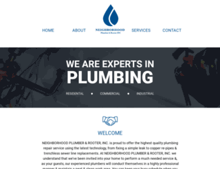 neighborhoodplumber.com screenshot