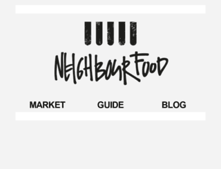 neighbourfoodmarket.nl screenshot