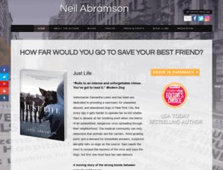 neilabramsonauthor.com screenshot