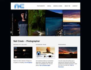 neilcreek.com screenshot