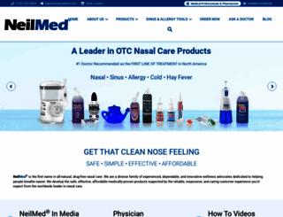 neilmed.com screenshot