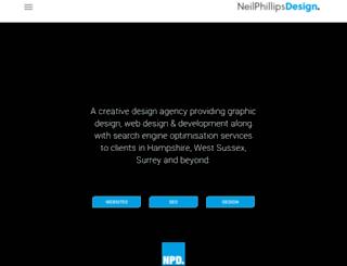 neilphillipsdesign.co.uk screenshot