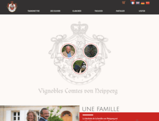neipperg.com screenshot