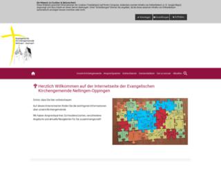 nellingen-oppingen-evangelisch.de screenshot
