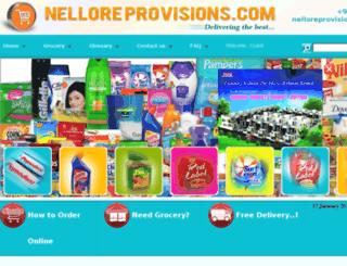nelloreprovisions.com screenshot