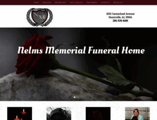 nelmsmemorial.net screenshot