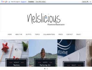 nelslicious.com screenshot