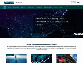 nema.org screenshot