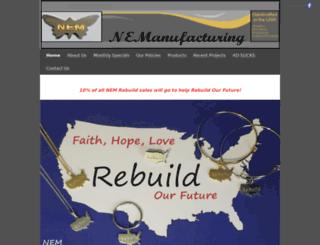 nemetalcrafters.com screenshot