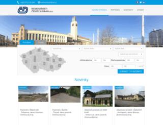 nemovitosti.ceskedrahy.cz screenshot