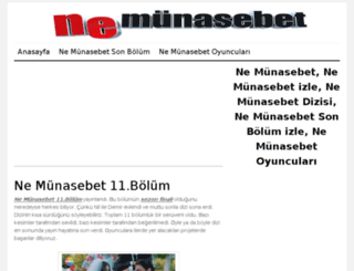 nemunasebet.org screenshot