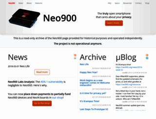 neo900.org screenshot