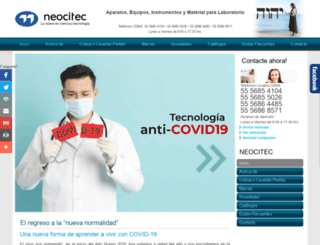 neocitec.com.mx screenshot