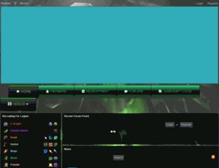 neolutum.enjin.com screenshot