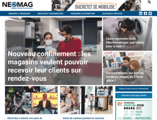neomag.fr screenshot
