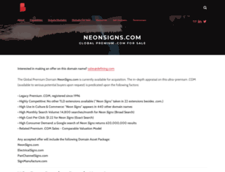 neonsigns.com screenshot