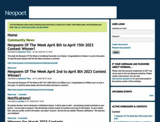neopoet.com screenshot