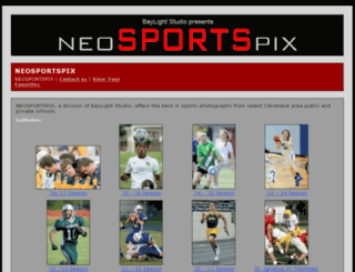 neosportspix.exposuremanager.com screenshot