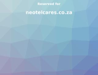 neotelcares.co.za screenshot