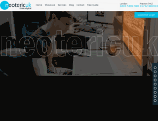 neotericuk.co.uk screenshot