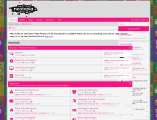 neotopia.co screenshot
