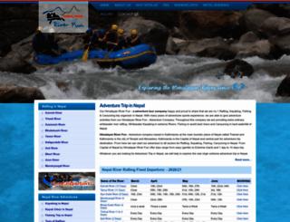 nepalraft.com screenshot