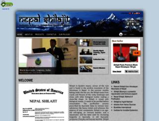 nepalshilajit.com screenshot
