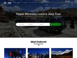 nepaltraveladventure.com screenshot