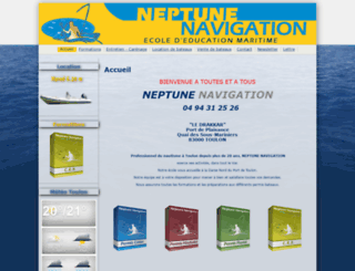neptunenavigation.fr screenshot