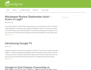 nerdgrind.com screenshot