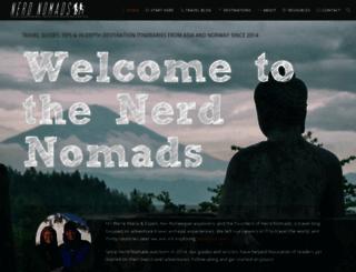 nerdnomads.com screenshot