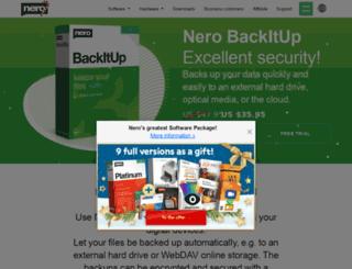 nerobackitup.com screenshot