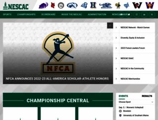 nescac.com screenshot