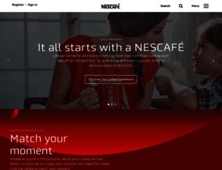 nescafe.co.nz screenshot