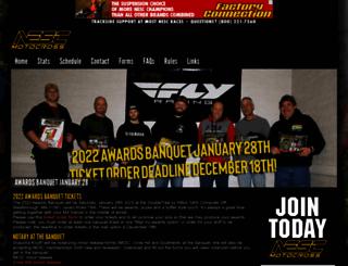 nescmotocross.com screenshot