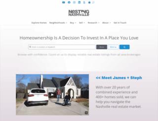 nestinginnashville.com screenshot