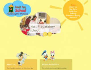 nestschoolgurgaon.com screenshot