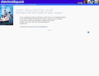 net-booking.net screenshot