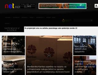 net-tv.si screenshot
